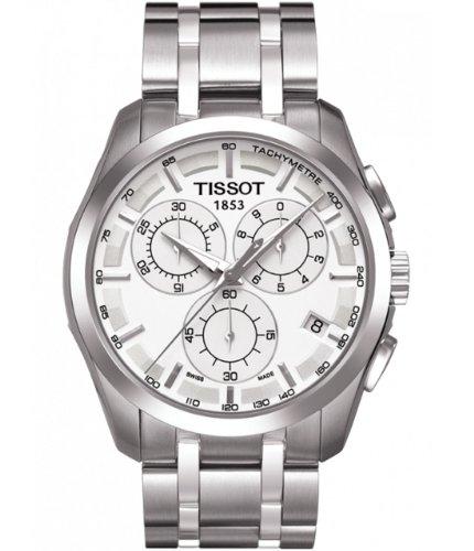 ティソ 腕時計 メンズ T035.617.11.031.00 TissotT0356171103100 Men's Couturier Silver Dial Watchティソ 腕時計 メンズ T035.617.11.031.00