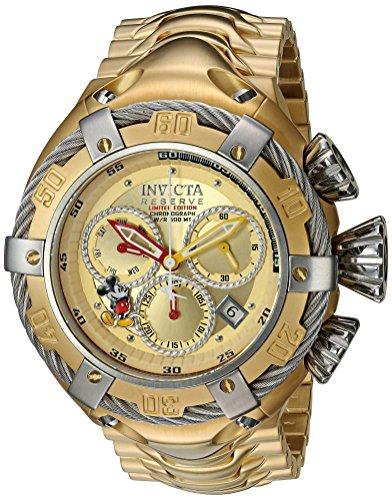 腕時計 インヴィクタ インビクタ メンズ ディズニー 24659 【送料無料】Invicta Men's Disney Limited Edition Quartz Watch with Stainless-Steel Strap, Gold, 29 (Model: 24659)腕時計 インヴィクタ インビクタ メンズ ディズニー 24659