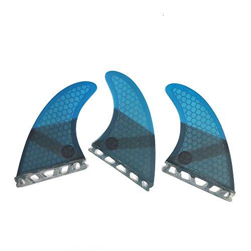 サーフィン フィン マリンスポーツ UPSURF Surfboard fin Future Basic Fin Medium Size G5 tri Fin Choose Color (Blue)サーフィン フィン マリンスポーツ