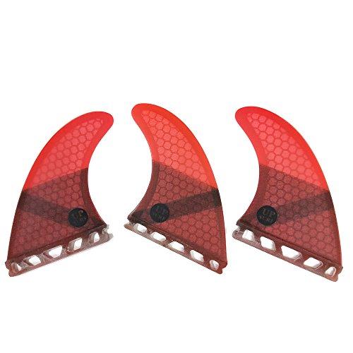 サーフィン フィン マリンスポーツ 【送料無料】UPSURF Surfboard fin Future Basic Fin Medium Size G5 tri Fin Choose Color (Red)サーフィン フィン マリンスポーツ