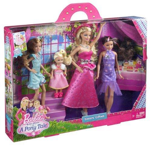 バービー バービー人形 チェルシー スキッパー ステイシー Barbie and Her Sisters in a Pony Tale Gala Gown Giftset Toy, Kids, Play, Childrenバービー バービー人形 チェルシー スキッパー ステイシー