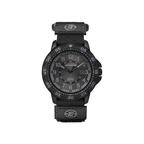タイメックス 腕時計 メンズ T49997 Timex Men's Expedition T49997 Black Cloth Analog Quartz Watchタイメックス 腕時計 メンズ T49997