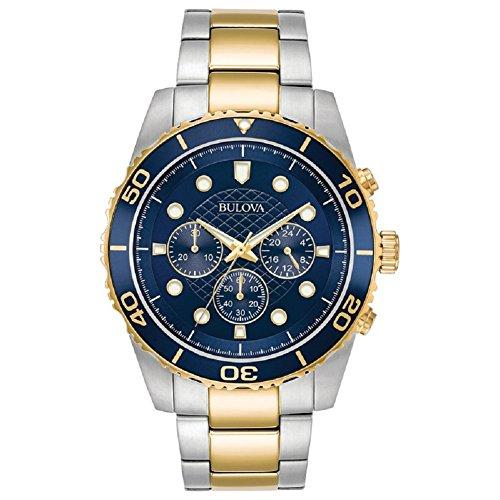 ブローバ 腕時計 メンズ Bulova 98A170 2 Tone Mens Watchブローバ 腕時計 メンズ