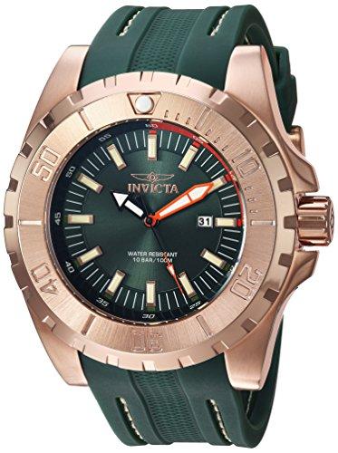 インヴィクタ インビクタ プロダイバー 腕時計 メンズ 23731 Invicta Men's Pro Diver Green Polyurethane and Gold Tone Stainless Steel Watch, 23731インヴィクタ インビクタ プロダイバー 腕時計 メンズ 23731