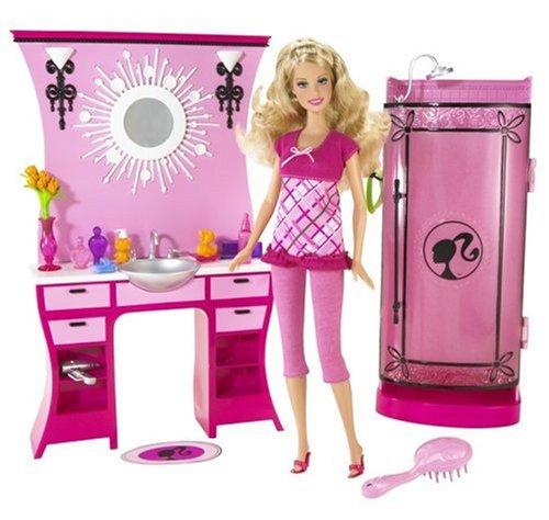 無料ラッピングでプレゼントや贈り物にも。逆輸入並行輸入送料込 バービー バービー人形 日本未発売 プレイセット アクセサリ N4895 【送料無料】Barbie Dream Bathroomバービー バービー人形 日本未発売 プレイセット アクセサリ N4895
