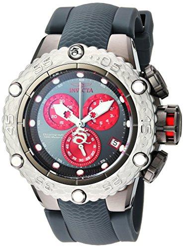 インヴィクタ インビクタ サブアクア 腕時計 メンズ 24446 Invicta Men's Subaqua Stainless Steel Quartz Watch with Silicone Strap, Grey, 11.5 (Model: 24446)インヴィクタ インビクタ サブアクア 腕時計 メンズ 24446