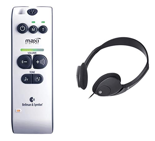 海外輸入ヘッドホン ヘッドフォン イヤホン 海外 輸入 BAMAXI-HP Bellman Audio Maxi BE2020 Wireless Personal Hearing Amplifier with 71dB Amplification - INCLUDES - Headphones海外輸入ヘッドホン ヘッドフォン イヤホン 海外 輸入 BAMAXI-HP