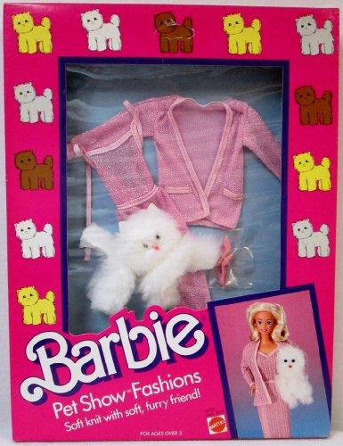 バービー バービー人形 着せ替え 衣装 ドレス 3659, Asst. 3699 Barbie Pet Show Fashions w Furry Cat - Pink Clothes (1986)バービー バービー人形 着せ替え 衣装 ドレス 3659, Asst. 3699