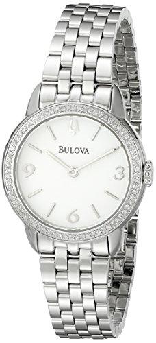 ブローバ 腕時計 レディース 96R181 【送料無料】Bulova Women's 96R181 Analog Display Analog Quartz Silver Watchブローバ 腕時計 レディース 96R181