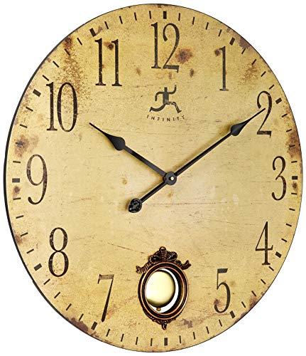 壁掛け時計 インテリア インテリア 海外モデル アメリカ 15435 【送料無料】Infinity Instruments 24 Inch Large Rustic Pendulum Wall Clock, Cottage Grove壁掛け時計 インテリア インテリア 海外モデル アメリカ 15435