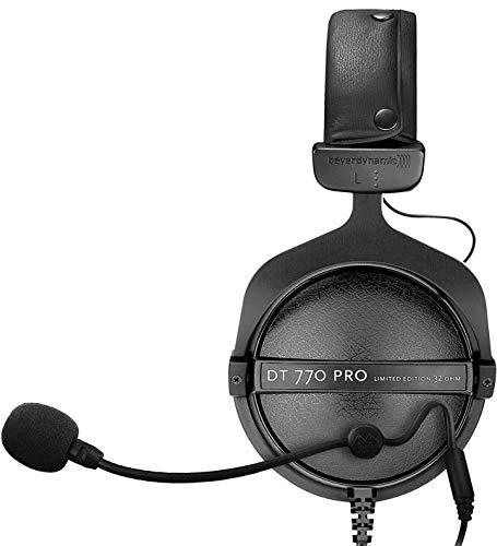 海外輸入ヘッドホン ヘッドフォン イヤホン 海外 輸入 Beyerdynamic DT 770 PRO 32 Ohm Closed Dynamic Over-Ear Headphone Bundle with Antlion Audio Attachable ModMic - Noise Cancelling with Mute Switch + B海外輸入ヘッドホン ヘッドフォン イヤホン 海外 輸入