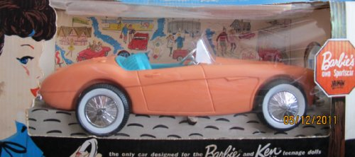 バービー バービー人形 ケン Ken 4718 Barbie's Own SPORTSCAR AUSTIN HEALEY Barbie & Ken Dolls FIRST SPORTS CAR (1962 IRWIN/Mattel)バービー バービー人形 ケン Ken 4718