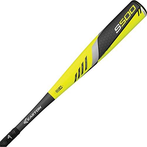 バット イーストン 野球 ベースボール メジャーリーグ Easton 2016 S500 (-3) BBCOR Bat - BB16S500 Black Yellow / 33