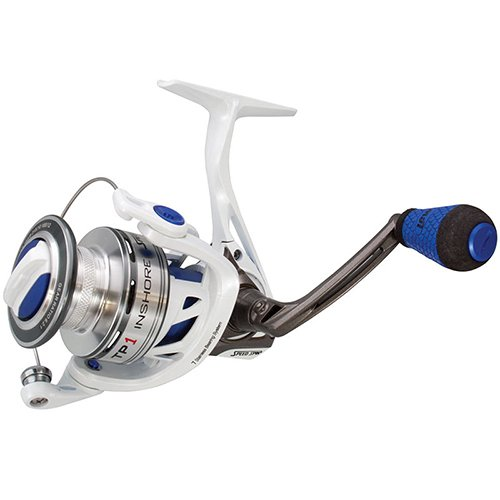 リール Lew's Fishing Lews Fishing 釣り道具 フィッシング TPI400 Lews Fishing TPI400 TP1 Inshore Speed Spinning Reel, 6.2: 1 Gear Ratio, 33