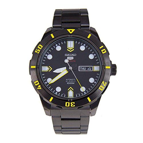セイコー 腕時計 メンズ SRP679 Seiko 5 Sports #SRP679 Men's Black IP Stainless Steel 100M Automatic Watchセイコー 腕時計 メンズ SRP679