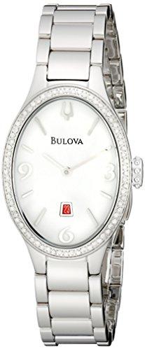 ブローバ 腕時計 レディース 96R192 【送料無料】Bulova Women's 96R192 Analog Display Analog Quartz Silver Watchブローバ 腕時計 レディース 96R192