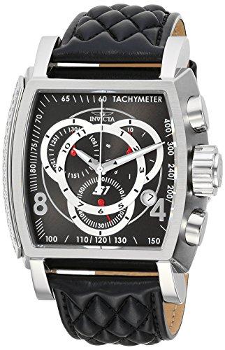 インヴィクタ インビクタ 腕時計 メンズ 24728 Invicta Men's Connection Stainless Steel Quartz Watch with Leather Calfskin Strap, Black, 26 (Model: 24728)インヴィクタ インビクタ 腕時計 メンズ 24728