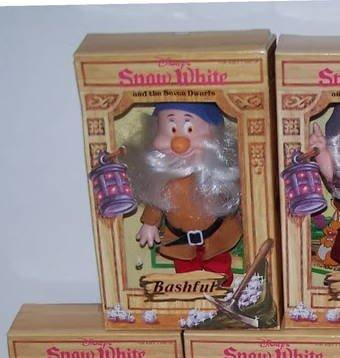 白雪姫 スノーホワイト ディズニープリンセス Vintage Disney's Snow White and the Seven Dwarfs 'Bashful' 6 1/2 Bikin Doll by Bikin Express白雪姫 スノーホワイト ディズニープリンセス