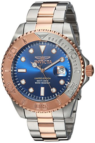 インヴィクタ インビクタ プロダイバー 腕時計 メンズ 24626 【送料無料】Invicta Men's Pro Diver Quartz Diving Watch with Two-Tone-Stainless-Steel Strap, 9 (Model: 24626)インヴィクタ インビクタ プロダイバー 腕時計 メンズ 24626