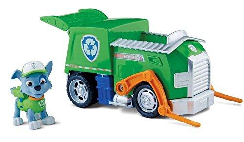 パウパトロール アメリカ直輸入 英語 バイリンガル育児 おもちゃ TRTAZ11A Paw Patrol - Rocky's Recycling Truck- Toy Figure Vehicle- 1 Rocky Figure, 1 Vehicle- Real Working Wheels- Pivoパウパトロール アメリカ直輸入 英語 バイリンガル育児 おもちゃ TRTAZ11A