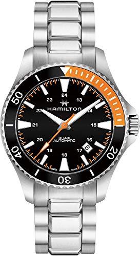 ハミルトン 腕時計 メンズ H82305131 【送料無料】Hamilton Khaki Navy Black Dial Stainless Steel Men's Watch H82305131ハミルトン 腕時計 メンズ H82305131