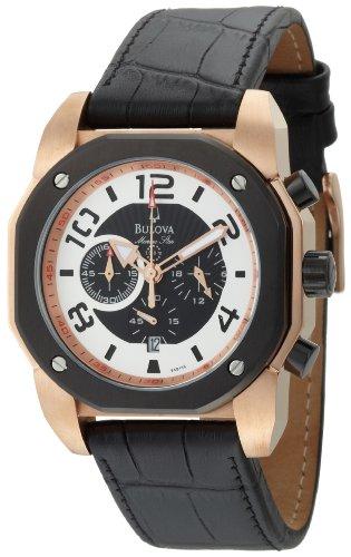 ブローバ 腕時計 メンズ 98B138 【送料無料】Bulova Men's 98B138 Marine Star Black Dial Strap Watchブローバ 腕時計 メンズ 98B138