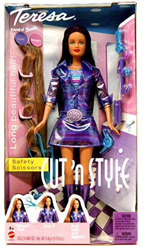 バービー バービー人形 日本未発売 プレイセット アクセサリ 56893 【送料無料】Barbie TERESA Cut 'n Style Doll w Extra Hair Extensions, Scissors & More! (2002 From Canada)バービー バービー人形 日本未発売 プレイセット アクセサリ 56893