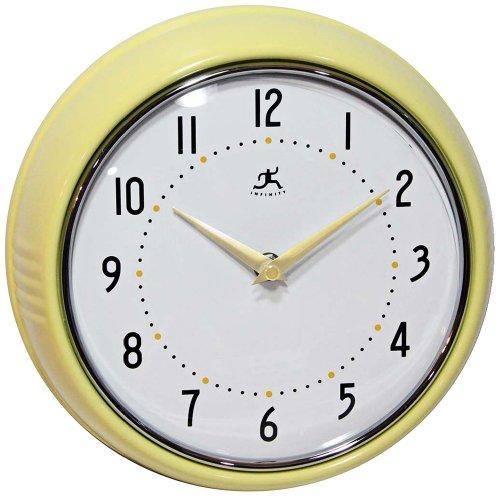 壁掛け時計 インテリア インテリア 海外モデル アメリカ 835728 Infinity Instruments Retro 9.5-Inch Wall Clock壁掛け時計 インテリア インテリア 海外モデル アメリカ 835728