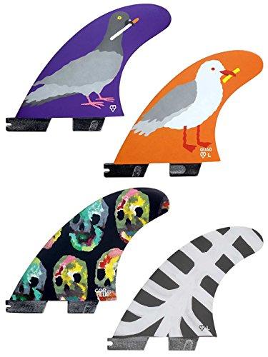 サーフィン フィン マリンスポーツ ON THE BLOB Gorilla On The Blob Surfboard Fins - Select Shape and Size (FCS Compatible, Tri)サーフィン フィン マリンスポーツ ON THE BLOB