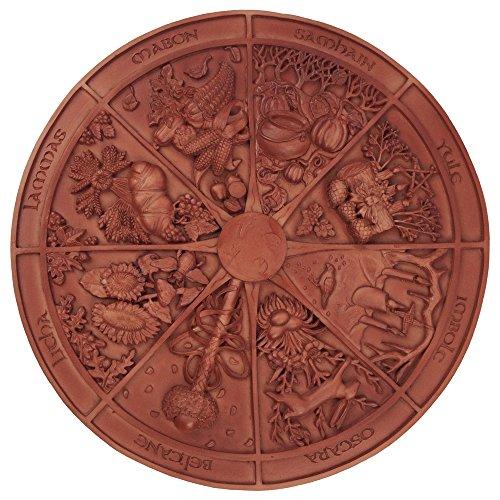 壁飾り インテリア タペストリー 壁掛けオブジェ 海外デザイン 【送料無料】Sacred Source Wheel of The Year Plaque壁飾り インテリア タペストリー 壁掛けオブジェ 海外デザイン