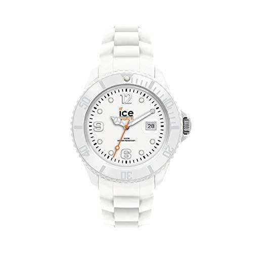 アイスウォッチ 腕時計 レディース かわいい SI.WE.U.S.09 【送料無料】Ice-Watch Unisex SI.WE.U.S.09 Sili Collection White Plastic and Silicone Watchアイスウォッチ 腕時計 レディース かわいい SI.WE.U.S.09