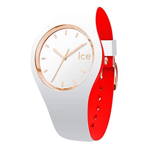 アイスウォッチ 腕時計 レディース かわいい 007230 【送料無料】Ice-Watch - ICE Loulou White Rose-Gold - Women's Wristwatch with Silicon Strap - 007230 (Small)アイスウォッチ 腕時計 レディース かわいい 007230