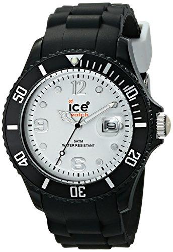 アイスウォッチ 腕時計 メンズ かわいい SIBWBS10 Ice Men's SIBWBS10 Ice-White White Dial with Black Bracelet Watchアイスウォッチ 腕時計 メンズ かわいい SIBWBS10
