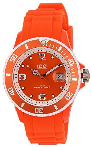 アイスウォッチ 腕時計 レディース かわいい SUN.NOE.U.S.13 【送料無料】Ice-Watch Sunshine Orange Dial Silicone Strap Unisex Watch Sun.NOE.U.S.13アイスウォッチ 腕時計 レディース かわいい SUN.NOE.U.S.13