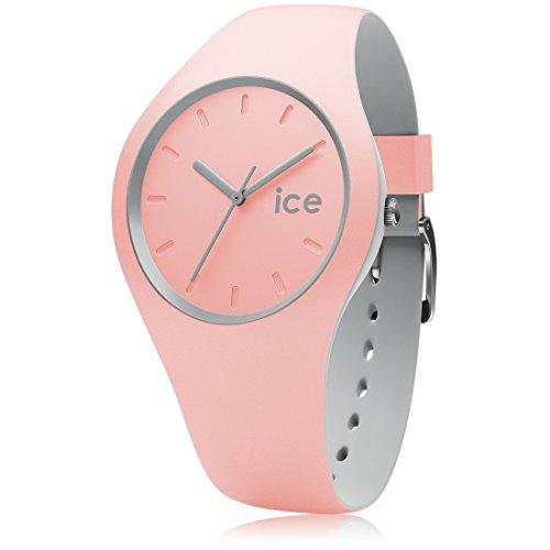 アイスウォッチ 腕時計 レディース かわいい 012971 Ice-Watch - Ice Duo Pearl Blush - Women's Wristwatch with Silicon Strap - 012971 (Medium)アイスウォッチ 腕時計 レディース かわいい 012971