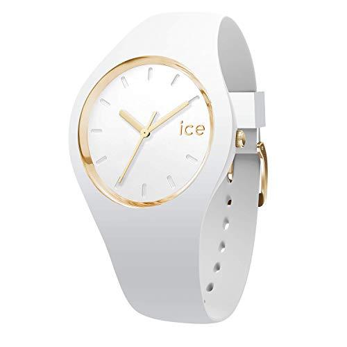 アイスウォッチ 腕時計 レディース かわいい 夏の腕時計特集 ICE.GL.WE.U.S.13 【送料無料】Ice-Watch - ICE Glam White - Women's Wristwatch with Silicon Strap - 000917 (Medium)アイスウォッチ 腕時計 レディース かわいい 夏の腕時計特集 ICE.GL.WE.U.S.13