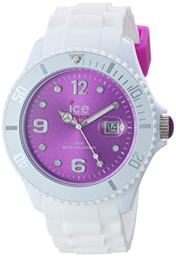 アイスウォッチ 腕時計 レディース かわいい SI.WV.B.S.10 【送料無料】Ice-Watch - Sili - Big 48 - White Purple - Siliconeアイスウォッチ 腕時計 レディース かわいい SI.WV.B.S.10