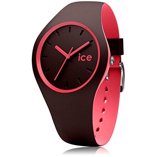 アイスウォッチ 腕時計 レディース かわいい 012972 Ice-Watch - ICE Duo Chocolat Coral - Women's Wristwatch with Silicon Strap - 012972 (Medium)アイスウォッチ 腕時計 レディース かわいい 012972