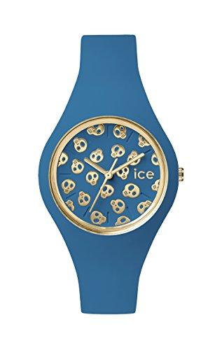 アイスウォッチ 腕時計 メンズ かわいい Ice Skull 【送料無料】Ice-Watch - ICE Skull Deep Water - Women's Wristwatch with Silicon Strap - 001256 (Medium)アイスウォッチ 腕時計 メンズ かわいい Ice Skull