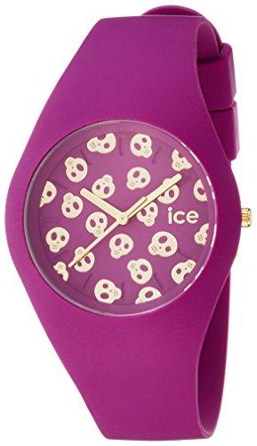 アイスウォッチ 腕時計 メンズ かわいい Ice Skull 【送料無料】Ice-Watch - Ice-Skull - Damson - Unisex (43mm) Silicone - Quartz Watch - ICE.SK.DAM.U.S.15アイスウォッチ 腕時計 メンズ かわいい Ice Skull