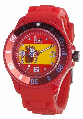 アイスウォッチ 腕時計 レディース かわいい WO.ES.S.S.12 【送料無料】Ice- World Spain Edition Two Tone Dial Silicone Strap Unisex Watch WO.ES.S.S.12アイスウォッチ 腕時計 レディース かわいい WO.ES.S.S.12