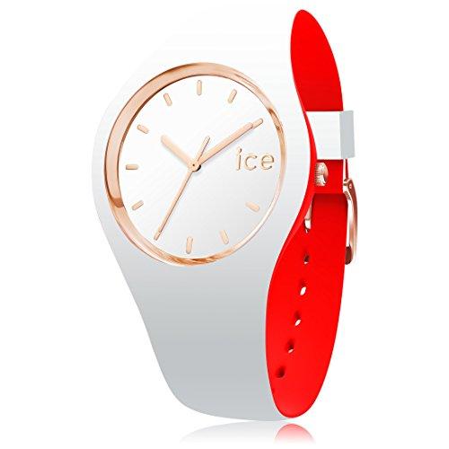 アイスウォッチ 腕時計 メンズ かわいい 007240 Ice-Watch - ICE Loulou White Rose-Gold - Women's Wristwatch with Silicon Strap - 007240 (Medium)アイスウォッチ 腕時計 メンズ かわいい 007240