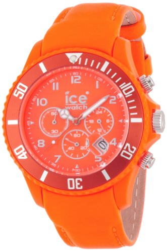 アイスウォッチ 腕時計 メンズ かわいい CHFOBL 【送料無料】Ice-Watch - Ice-Chrono Matte - Big 48 - Fluo Orange - Leatherアイスウォッチ 腕時計 メンズ かわいい CHFOBL