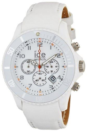 アイスウォッチ 腕時計 メンズ かわいい CH.WE.B.L Ice-Watch - Ice-Chrono Matte - Big 48 - White - Leatherアイスウォッチ 腕時計 メンズ かわいい CH.WE.B.L