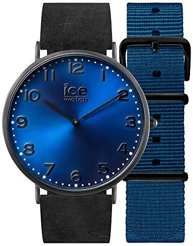 アイスウォッチ 腕時計 メンズ かわいい 001364 Ice-Watch CHL.A.DUR.41.N.15 Mens Ice-City Watch with Nato Blue Nylon and Leather Strapsアイスウォッチ 腕時計 メンズ かわいい 001364