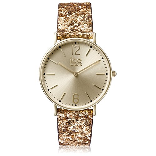 アイスウォッチ 腕時計 レディース かわいい MA.GD.36.G.15 【送料無料】Ice-Watch - City Madame Gold - Women's Wristwatch with Nylon Strap - 001428 (Small)アイスウォッチ 腕時計 レディース かわいい MA.GD.36.G.15