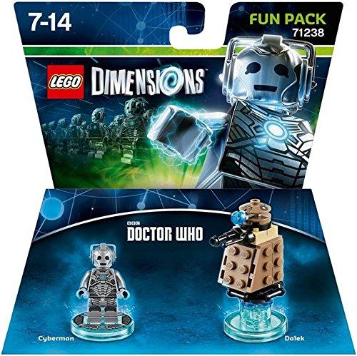 レゴ 1000561499 Dr. Who Cyberman Fun Pack - Lego Dimensionsレゴ 1000561499