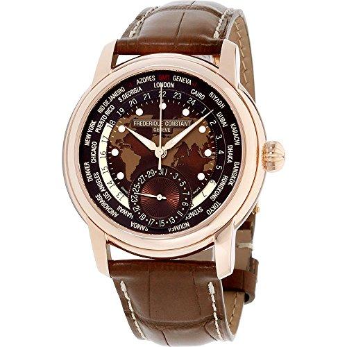 """フレデリックコンスタント フレデリック・コンスタント 腕時計 メンズ 【送料無料】Frederique Constant Brown Dial Leather Strap Men""""s Watch FC-718BRWM4H4フレデリックコンスタント フレデリック・コンスタント 腕時計 メンズ"""