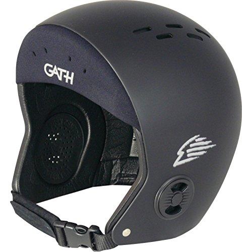 ウォーターヘルメット 安全 マリンスポーツ サーフィン ウェイクボード 【送料無料】Gath Surf Convertible Helmet - Black - XLウォーターヘルメット 安全 マリンスポーツ サーフィン ウェイクボード