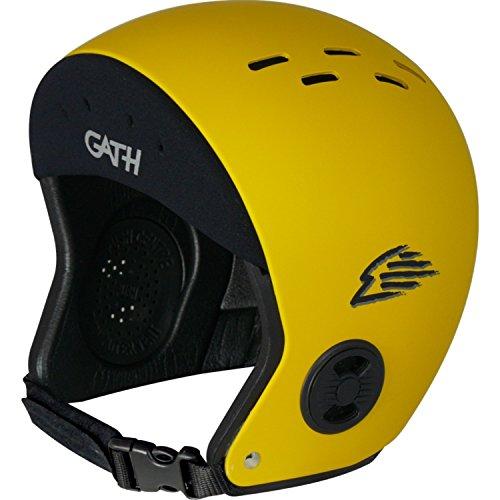 ウォーターヘルメット 安全 マリンスポーツ サーフィン ウェイクボード Gath Surf Convertible Helmet - Yellow - XLウォーターヘルメット 安全 マリンスポーツ サーフィン ウェイクボード